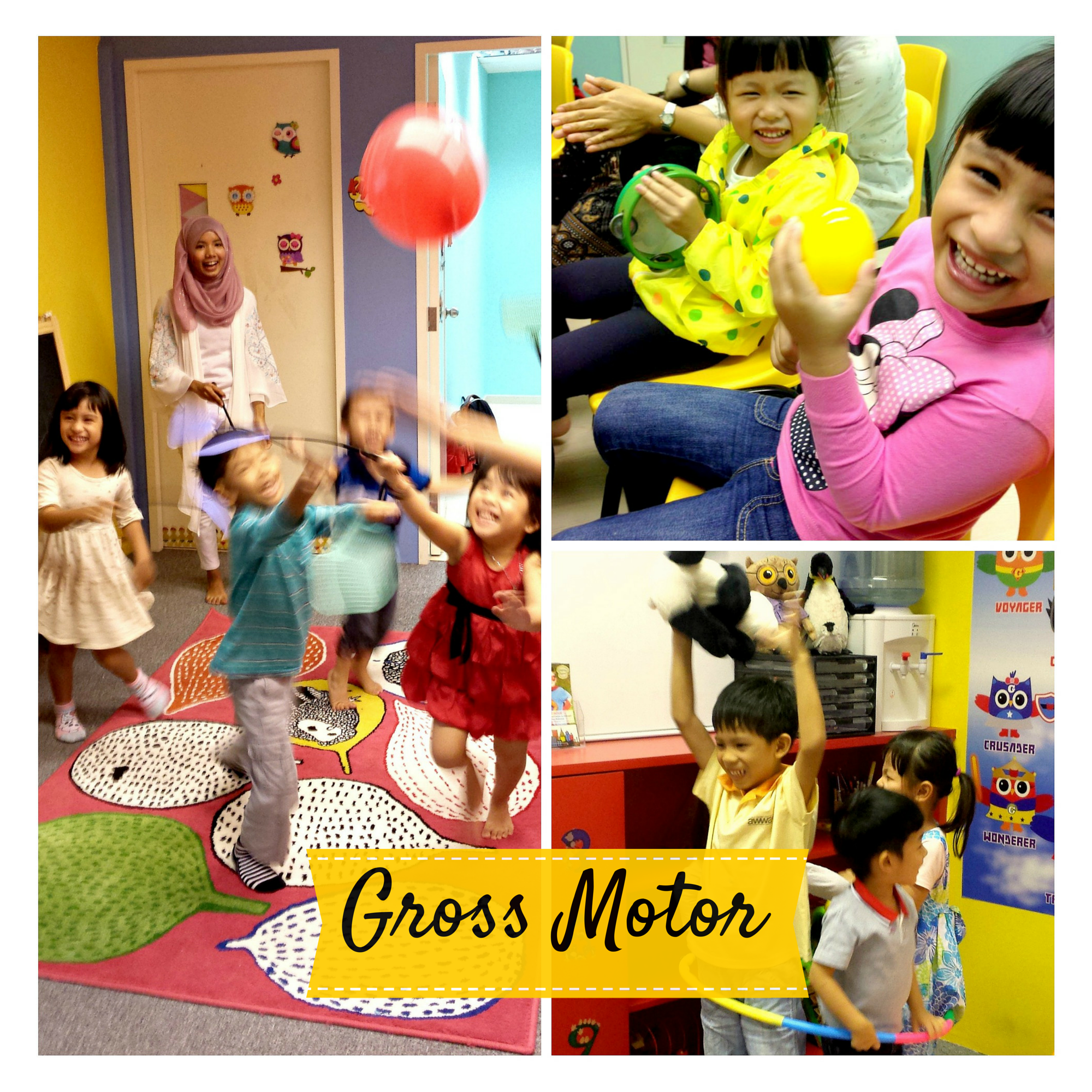 Gross Motor (4 to 6 years old)